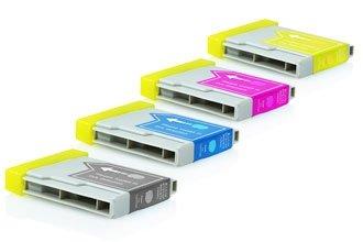 Brother LC-1000 промо пакет (BK,C,M,Y) 4бр.