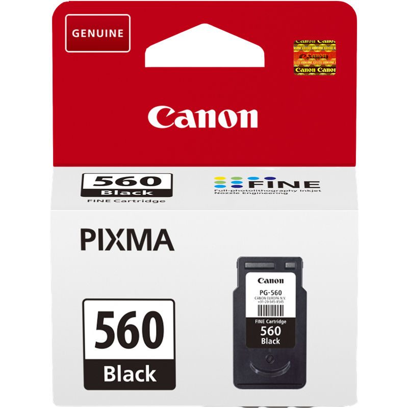 Canon PG-560 (3713C001) оригинална мастилница black