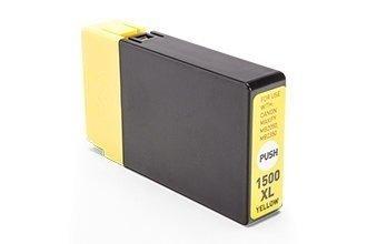 Canon PGI-1500Y (9195B001) съвместима касета yellow