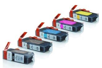 Canon PGI-520 / CLI-521 промо пакет (BK,PBK,C,M,Y) 5бр.