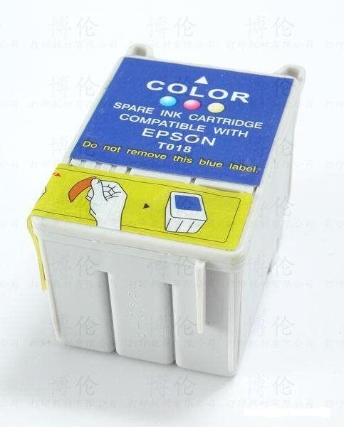Epson T018 съвместима касета color
