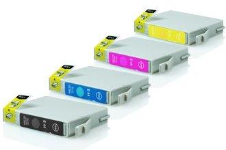 Epson T0441-T0444 промо пакет (BK,C,M,Y) 4бр.