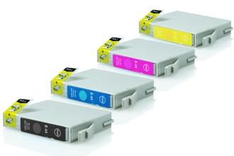 Epson T0611-T0614 промо пакет (BK,C,M,Y) 4бр.