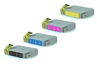 Epson T0711-T0714 промо пакет (BK,C,M,Y) 4бр.