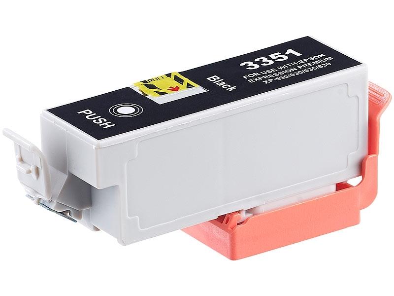 Epson 33XL (T3351) съвместима касета black