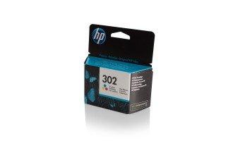 HP 302 (F6U65AE) оригинална мастилница color