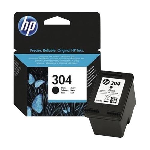 HP 304 (N9K06AE) оригинална мастилница black