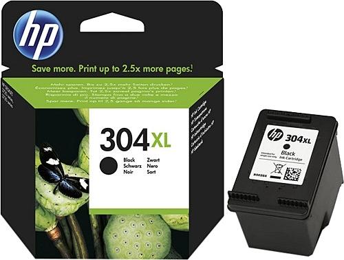HP 304XL (N9K08AE) оригинална мастилница black