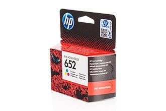 HP 652 (F6V24AE) оригинална мастилница color