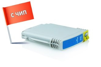 HP 940XL (C4907AE) съвместима касета cyan