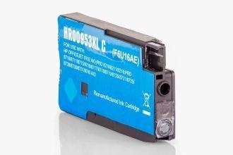 HP 953XL (F6U16AE) съвместима касета cyan