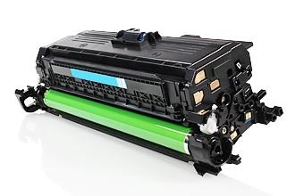 HP CE401A съвместима тонер касета cyan