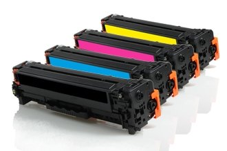 HP CE410A-CE413A промо пакет (BK,C,M,Y) 4бр.