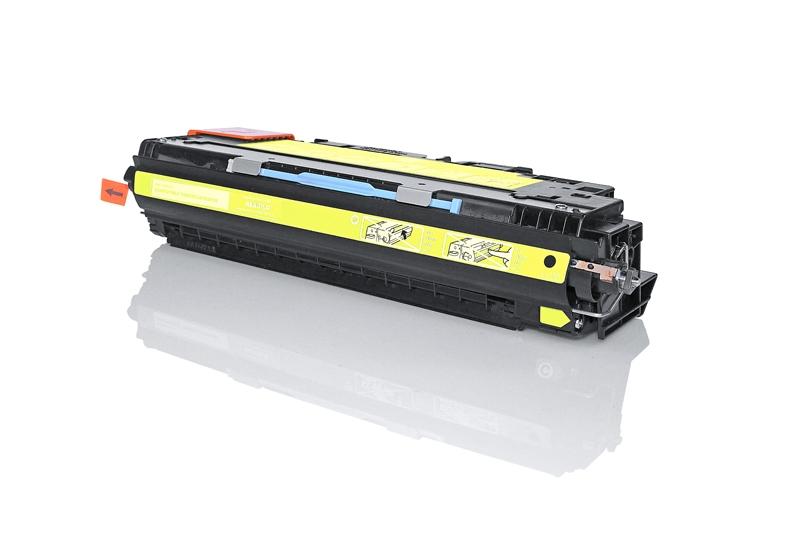 HP Q2672A съвместима тонер касета yellow