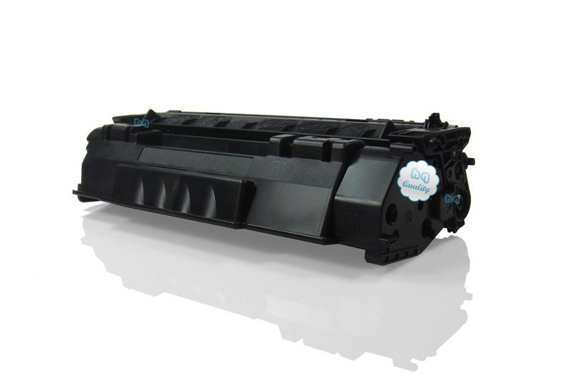 HP Q7553A съвместима тонер касета black