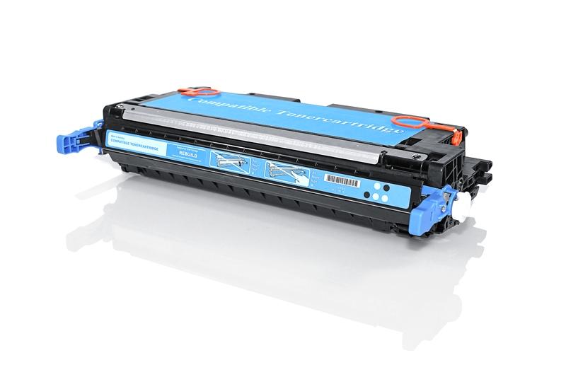 HP Q7581A съвместима тонер касета cyan