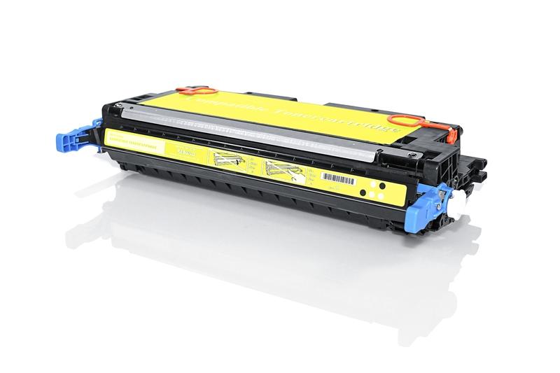 HP Q7582A съвместима тонер касета yellow