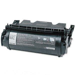 Lexmark 12A7462 съвместима тонер касета black