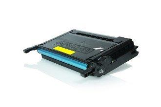 Samsung CLP-Y660B съвместима тонер касета yellow