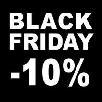 -10% на всички тонер касети и мастилници BLACK FRIDAY 2016